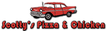 Scotty's Pizza Logo
